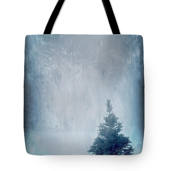 A Blue Christmas Tote Bag