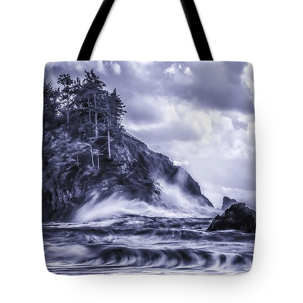 A Blustery Day Tote Bag