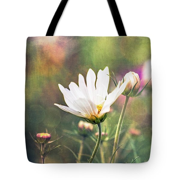 A Bouquet Of Flowers Tote Bag