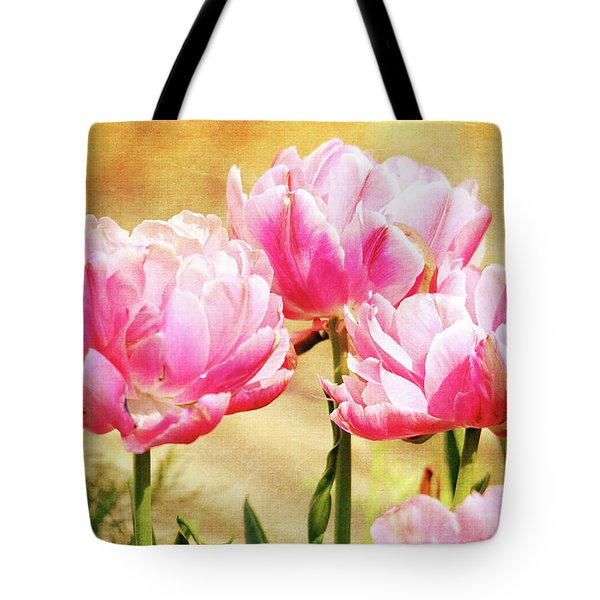 A Bouquet Of Tulips Tote Bag