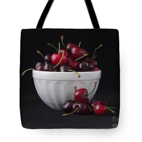 A Bowl Full Of Cherries Tote Bag