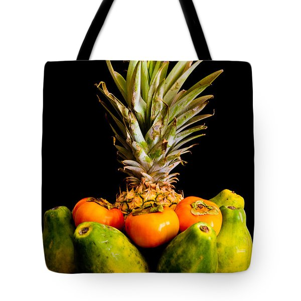 A Bowl Of Hawaiian Fruit Tote Bag