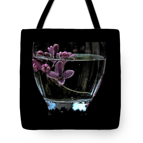 A Bowl Of Lilacs Tote Bag