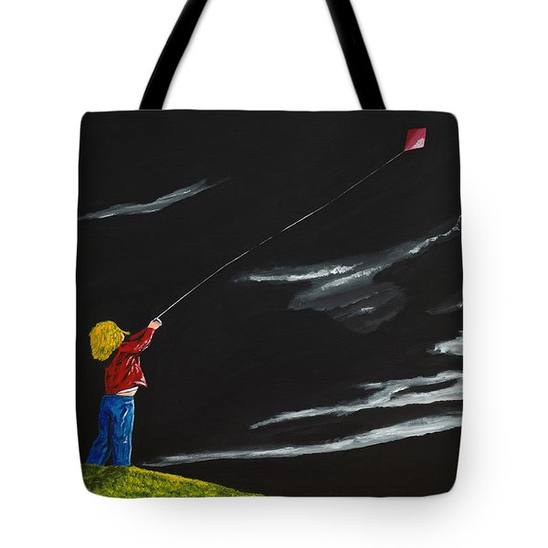 A Braw Night For Flight Tote Bag