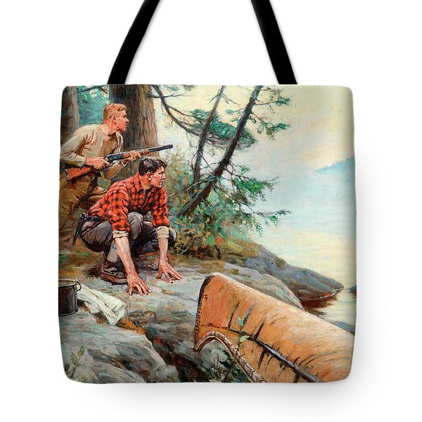 A Break At Dawn Tote Bag