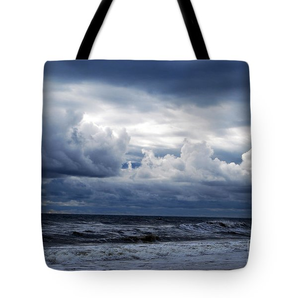A Break In The Storm Tote Bag