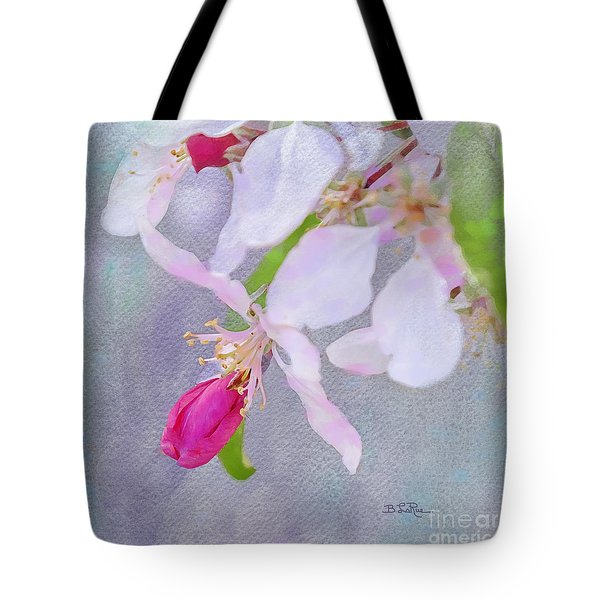 Tote Bag featuring the photograph A Breath Of Spring by Betty LaRue