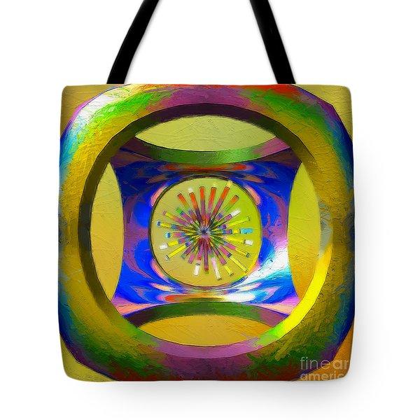 A Breezy Kaleidoscope Tote Bag