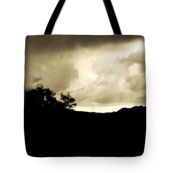 A Brewing Storm Tote Bag