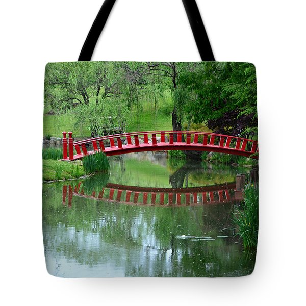 A Bridge Reflection Tote Bag