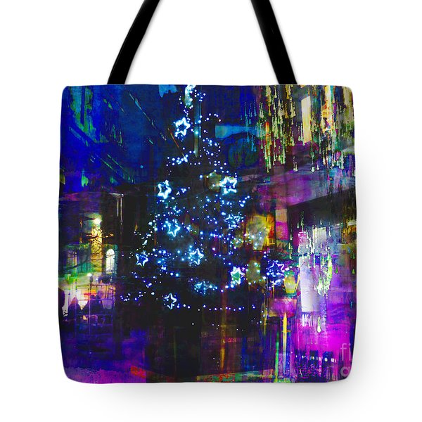 Tote Bag featuring the photograph A Bright And Colourful Christmas by LemonArt Photography