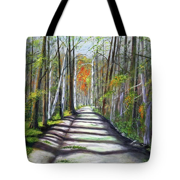 A Bright Autumn Day  Tote Bag