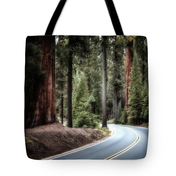A Bright Future Around The Bend Tote Bag