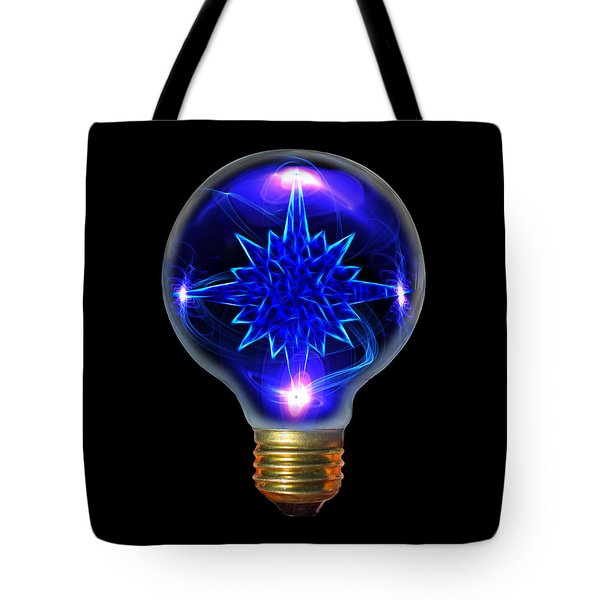 A Bright Idea Tote Bag by Shane Bechler