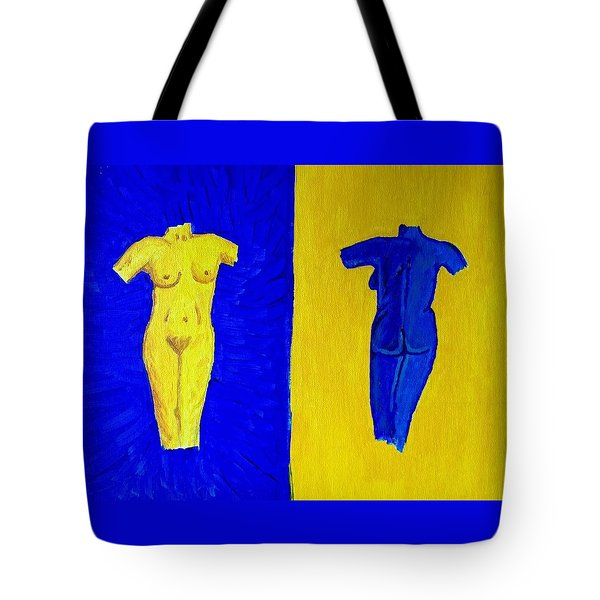 Day And Night Tote Bag by Brenda Pressnall