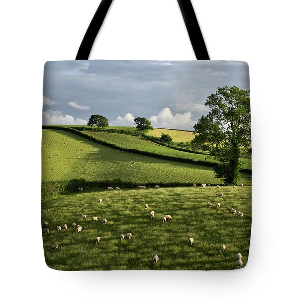 A Bucolic Evening Tote Bag