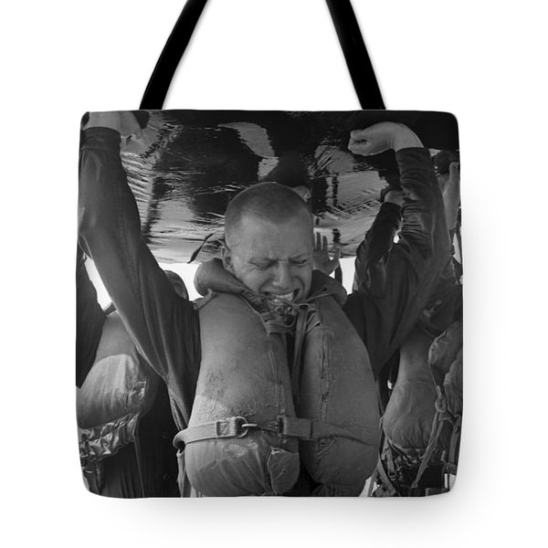 A Buds Student Expresses Pain Tote Bag