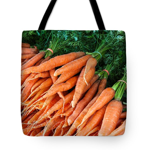 A Bunch Of Carrots Tote Bag