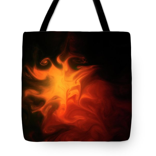 A Burning Passion Tote Bag