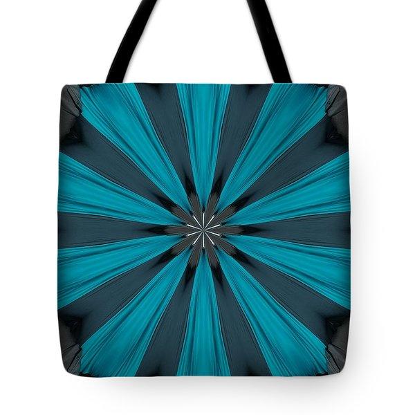 A Burst Of Blue Tote Bag