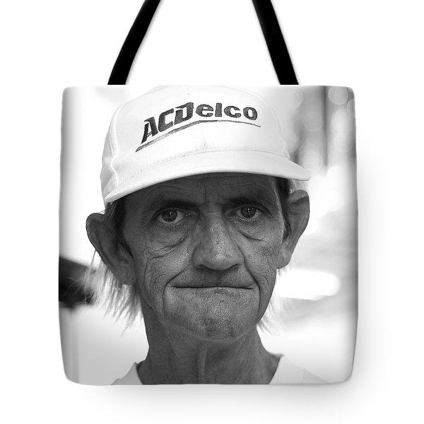 A C Delco Man Tote Bag