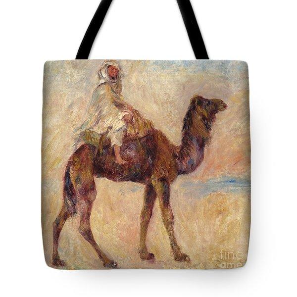 A Camel Tote Bag