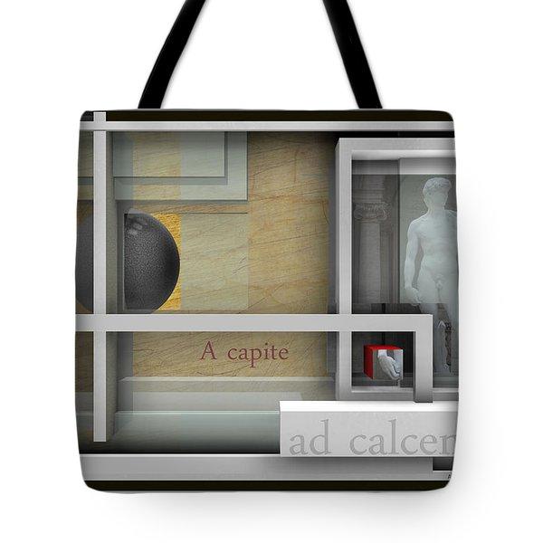 A Capite Ad Calcem Tote Bag