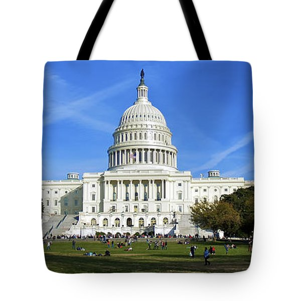 A Capitol View Tote Bag