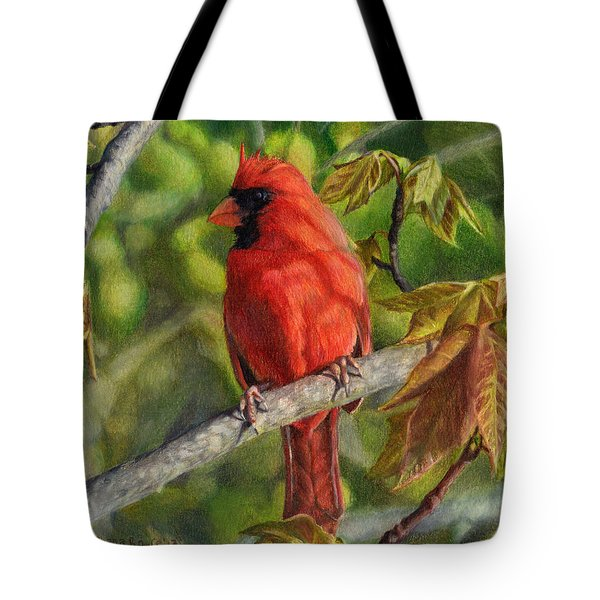 A Cardinal Named Carl Tote Bag