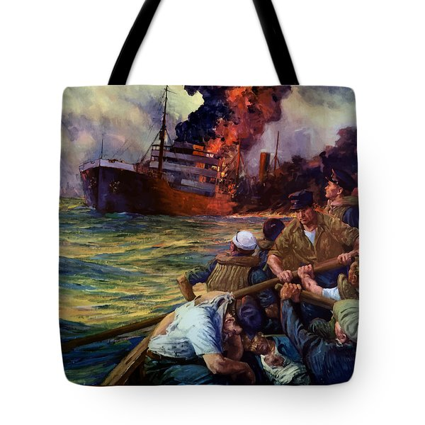 A Careless Word A Needless Sinking Tote Bag
