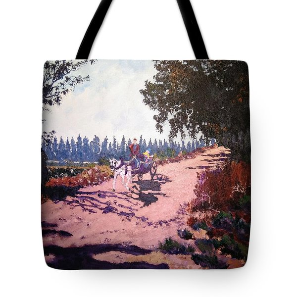 A Carriage And A Horse Tote Bag