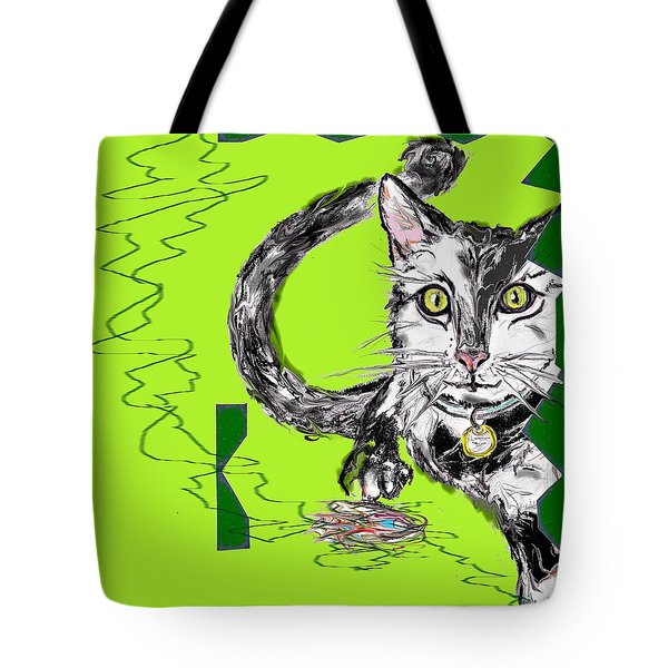 A Cat Tote Bag