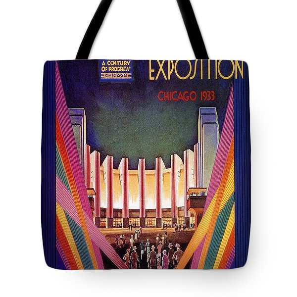 A Century Of Progress - Vintage Exposition Poster - Chicago Tote Bag