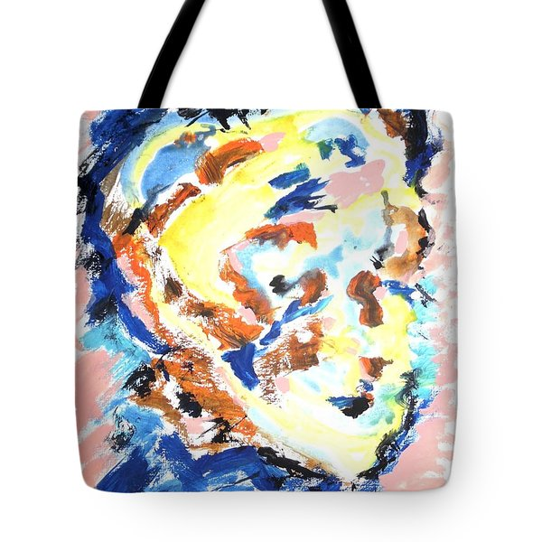 Tote Bag featuring the painting A Certain Inwardness by Esther Newman-Cohen