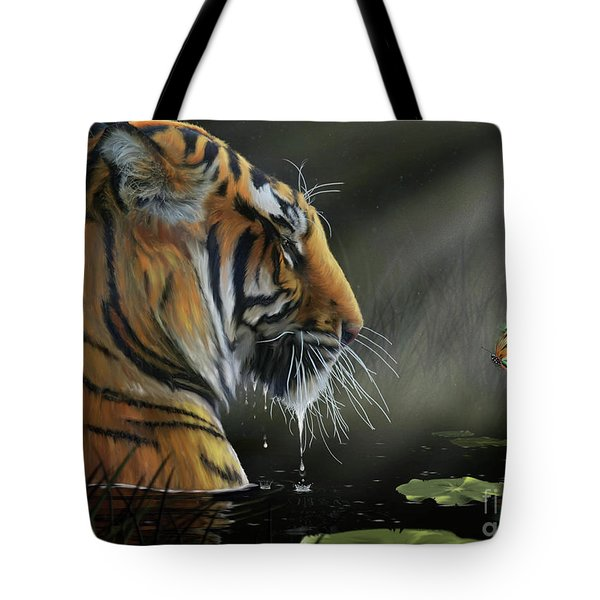 A Chance Encounter II Tote Bag by Don Olea