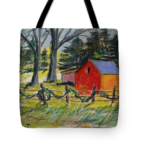 Tote Bag featuring the painting A Change Of Season by John Williams