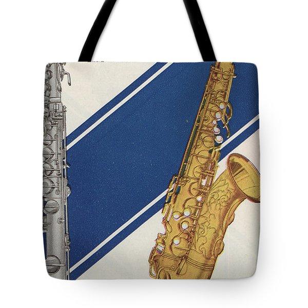 A Charles Gerard Conn F Mezzo-soprano Tote Bag