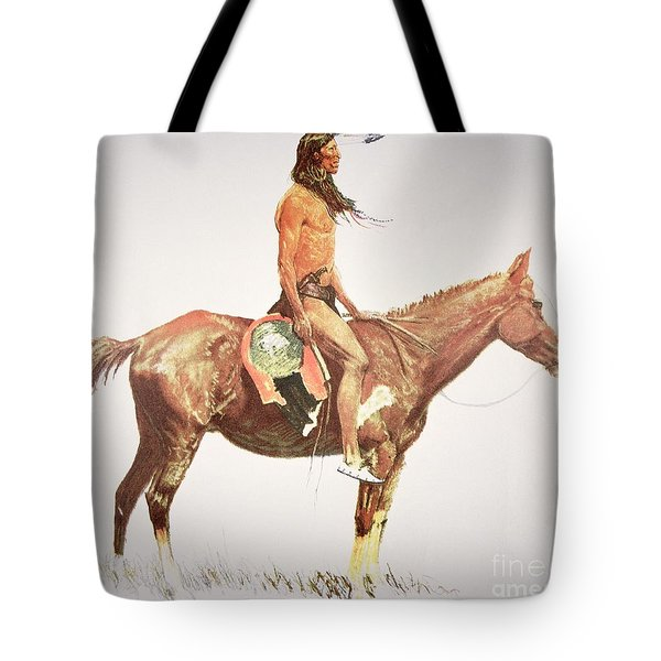 A Cheyenne Brave Tote Bag
