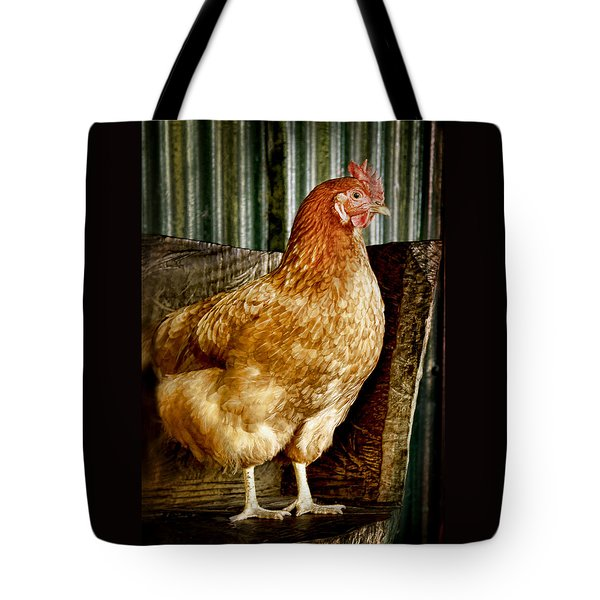 A Chicken Named Rembrandt Tote Bag