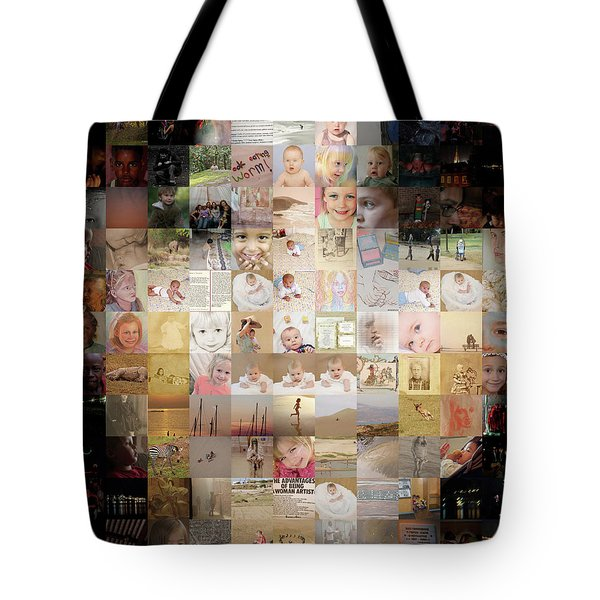 A Child - Many Children Tote Bag
