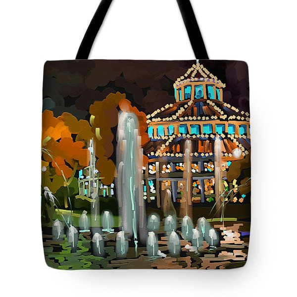 Tote Bag featuring the painting A Childhood Dream by Steven Lebron Langston