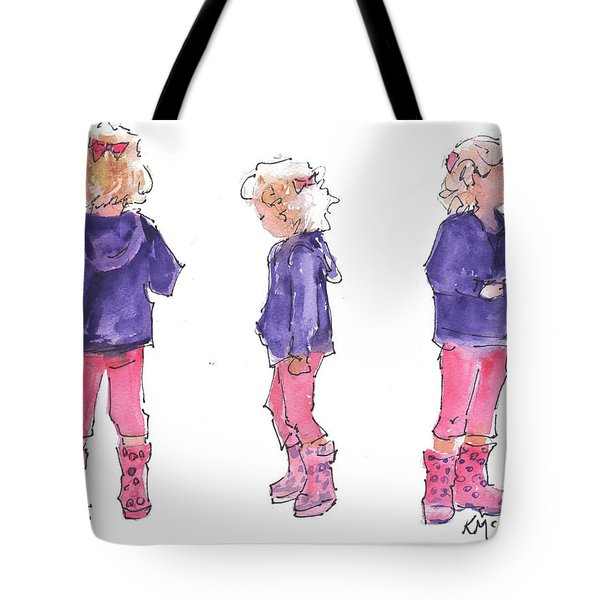 A Childs Pose Tote Bag