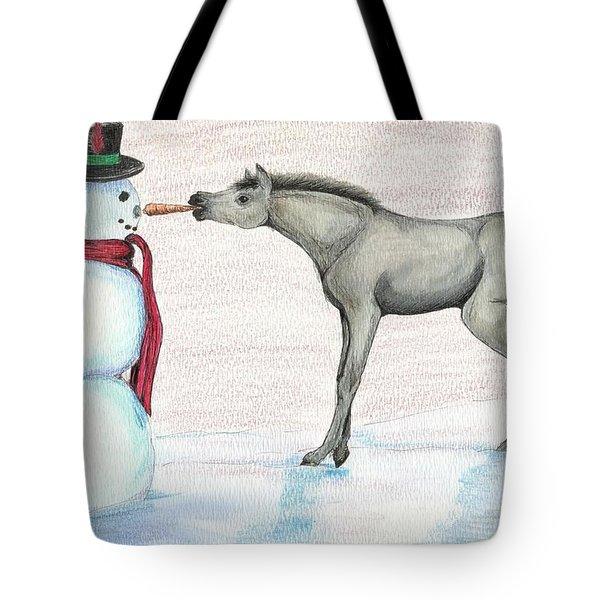 A Christmas Carrot Tote Bag