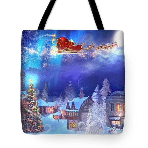 A Christmas Wish Tote Bag