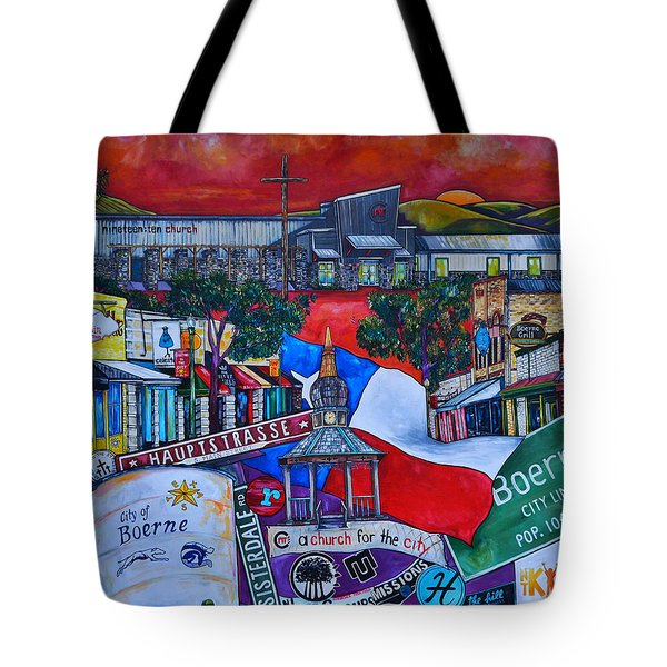 A Church For The City Tote Bag by Patti Schermerhorn