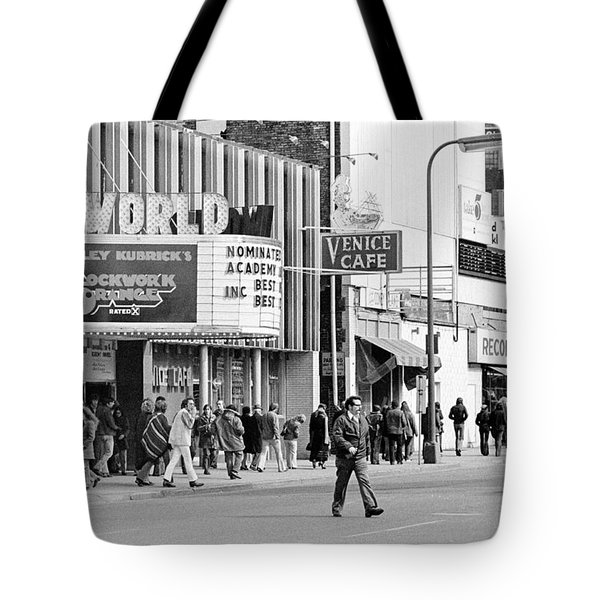 A Clockwork Orange At The World Theater Tote Bag