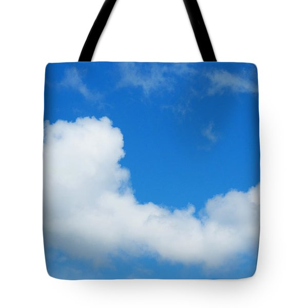 A Cloud For You Tote Bag by Gwyn Newcombe