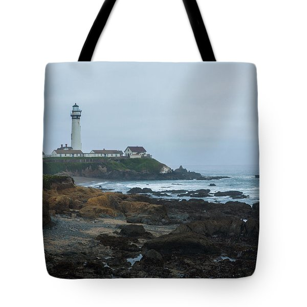 A Cloudy Day At Pigeon Point Tote Bag