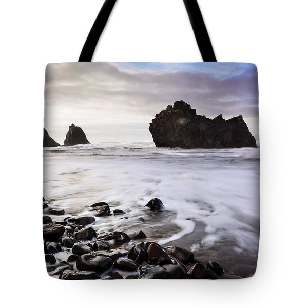A Cloudy Sea Tote Bag