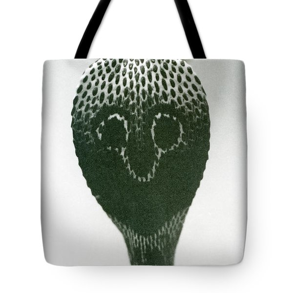 A Cobra With Raised Head And Flared Hood  Tote Bag